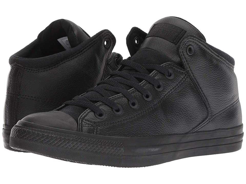Converse Chuck Taylor All Star High Street Post Game Hi (Black/Black/Black) Shoes
