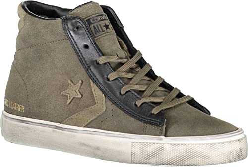 MidAdulto Pro Vulc Leather Distressed Converse Lifestyle 9YeDH2IWE