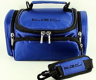 TomTom Via 53 Sat Nav GPS Case Bag van TGC ® met schouderriem en draaggreep, Dromerig Blauw