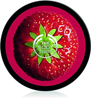 The Body Shop Mega Body Butter, Strawberry, 13.5 Ounce