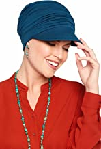 Bamboo Slouchy Newsboy Hat-Caps for Women with Chemo Cancer Hair Loss