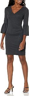 Nicole Miller womens Ponte Bell Slv Dress Cocktail Dress