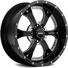 Sota Offroad Novakane Сustom Wheel - Gloss Black with Full CNC Milling 20