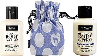 Vs Hydrating Body Lotion Set Acai/Passionflower With Perfume Bag 3.4 Fl Oz