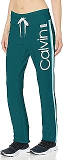 Calvin Klein Women's Calvin Logo Ankle Length Pant XS Blue