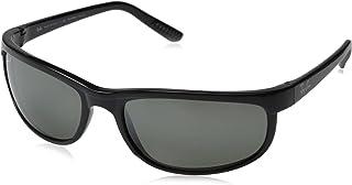 Ray Ban sunglasses RB2027 PRE, 601/W1 Black (Crystal Gray Mirror Polarized Lens), 63 mm