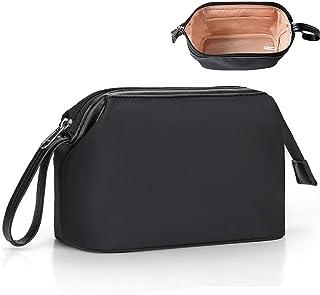 سازمان دهنده کیف آرایش ، کیف لوازم آرایشی و بهداشتی برای خانمها کیف نگهدارنده لوازم آرایشی کوچک کیف لوازم آرایشی قابل حمل (کوچک ، سیاه)