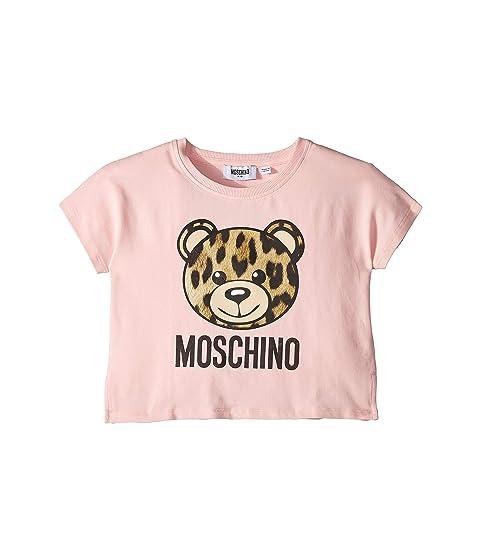 Moschino Kids Toy Bear Leopard Tee (Little Kids/Big Kids)