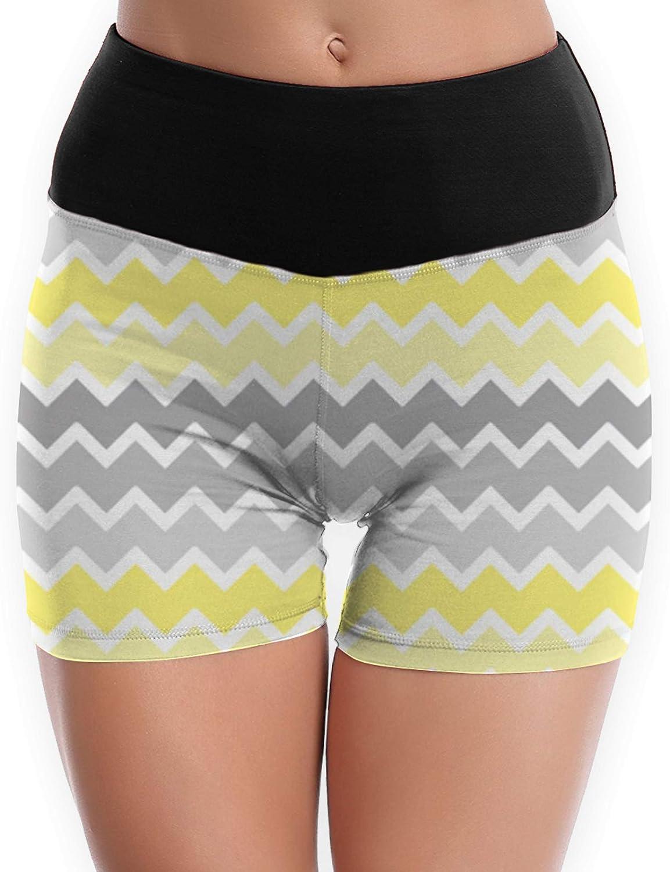 NiYoung Women High Waist Yoga Sport Shorts Tummy Control Running Workout Athletic Shorts