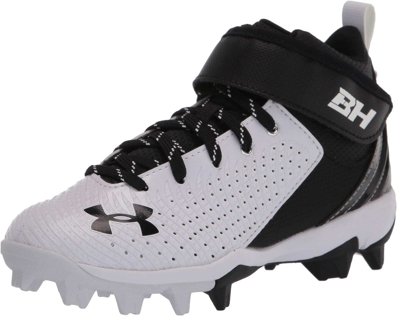 Under Armour Unisex-Child Harper 5 Mid Rm Jr. Baseball Shoe