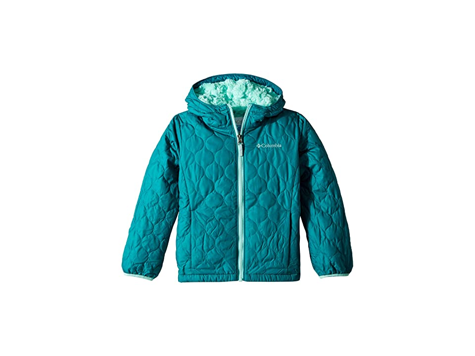 Columbia Kids Bella Plush Jacket (Little Kids/Big Kids) (Emerald/Pixie) Girl