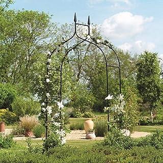 Gardman R351 Gothic Garden Arch, BLACK