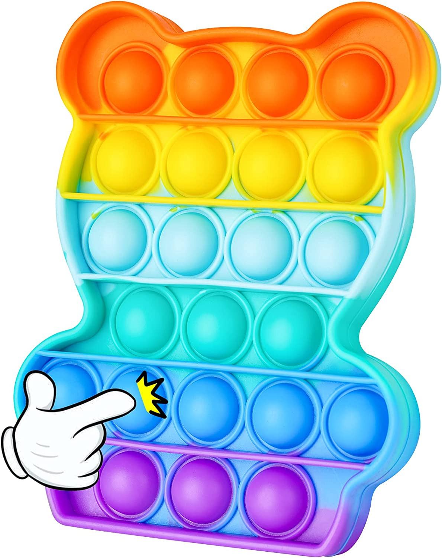 NiHealth Fidget Pack Push Pop Bubble Fidget Sensory Toy, Fidget