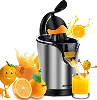 Suwikeke Electric Juicer Sowtech 2 in 1 Stainless Steel Squeezer Anti-drip Citrus Press for