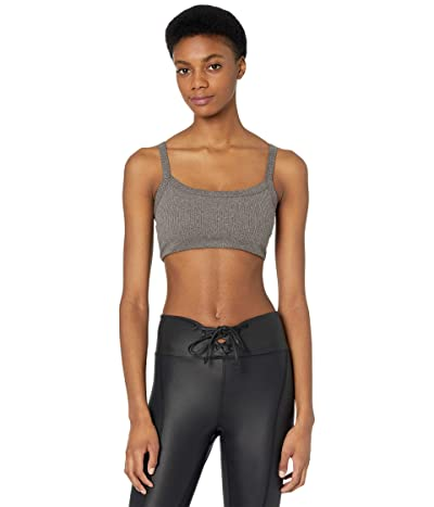 YEAR OF OURS Ribbed Bralet 2.0 (Heathered Grey) Women