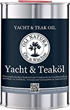 OLI-Natura Yacht and Teak Oil (Wood Oil For the Protection Of Hard And Exotic Woods Outdoors), Natur - Uncoloured