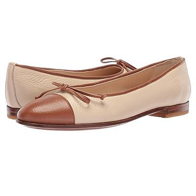 Gravati Bowed Loafer (Taupe/Cognac) Women