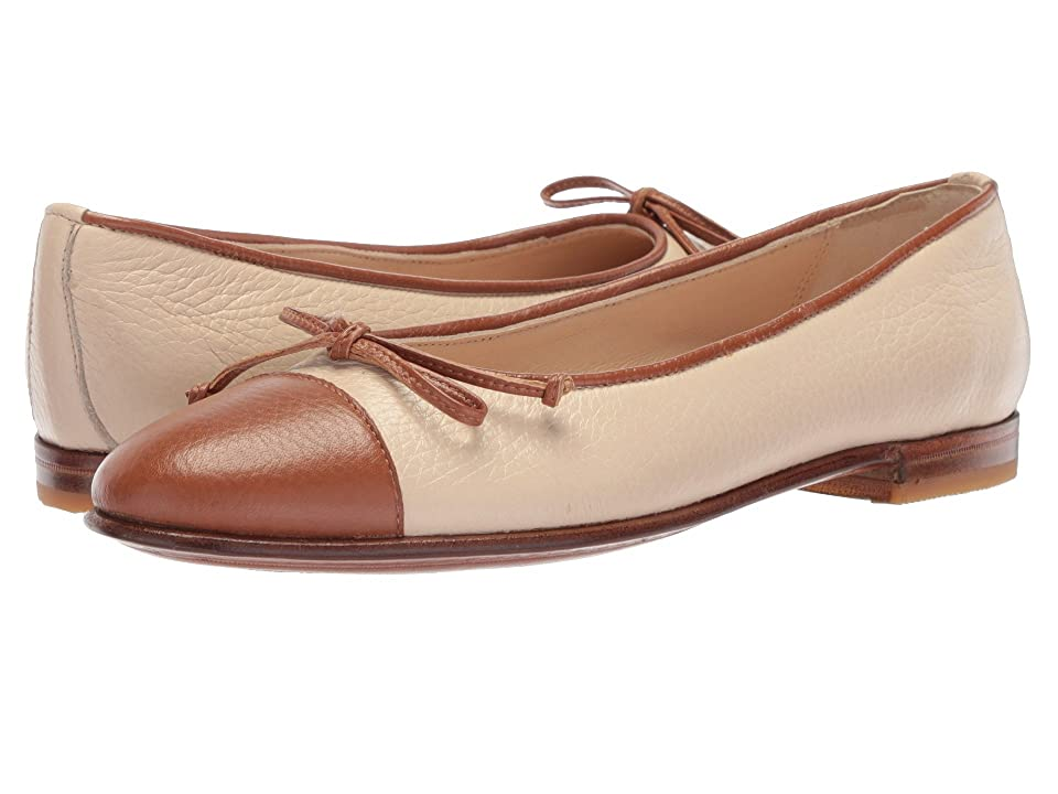 Gravati Bowed Loafer (Taupe/Cognac) Women