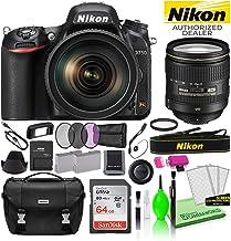 $1996 » Nikon D750 DSLR Digital Camera with 24-120mm VR Lens (1549) USA Model Deluxe Bundle -Includes- Sandisk 64GB SD Card + Nikon Gadget Bag + Filter Kit + Spare Battery + Camera Cleaning Kit + More