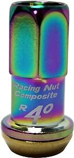 Kics 31876N R40 Neo Chrome (12mm x 1.5 Thread Size) Lug Nuts, (Set of 20)