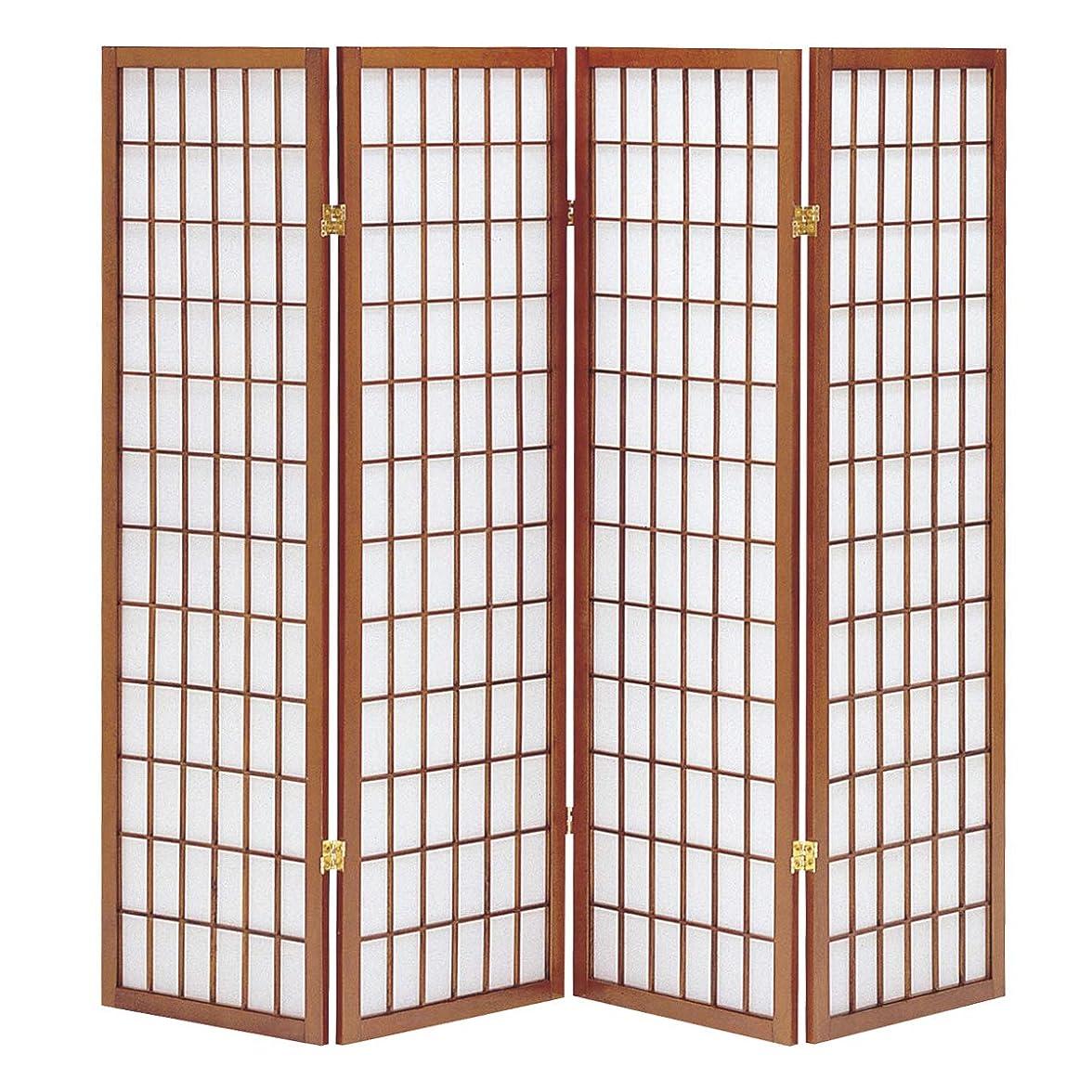 スクラップブックアーカイブちょっと待ってCtoC JAPAN Select パーテーション ブラウン 幅45cm×奥行2cm×高さ150cm X 4枚