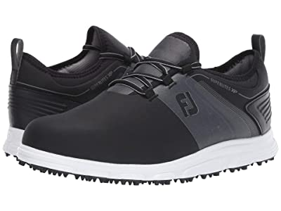 FootJoy Superlites XP Spikeless (Black/Grey) Men