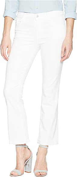 Selena Mid-Rise Crop Boot in Blanc