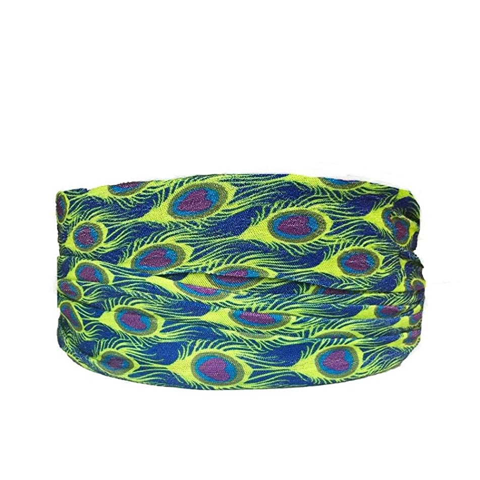 Headbands of Hope - Headbands for a Cause - Premium Lightweight Tube Turban for Women, Girls, Infants - Elastic, Nonslip Tube Turban for Comfy and Snug Fit - Vibrant Colors for Sports and More