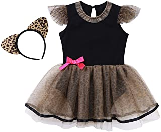Infant Baby Girls Kitty Cat Cutie Animal Tutu Costume Halloween Xmas Party Fancy Dress Up