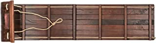 wooden toboggan sled