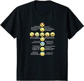 Kids YOUTH - Emoji Cross - Great Christian Fashion Gift Idea!