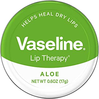 Vaseline Therapy Lip Balm, Aloe Vera 0.6 oz (Pack of 9)