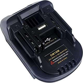 TPL DM18MA Battery Adapter Compatible with Makita 18V 20V Li-Ion Battery, Adapter Compatible with Dewalt and Milwaukee M18...