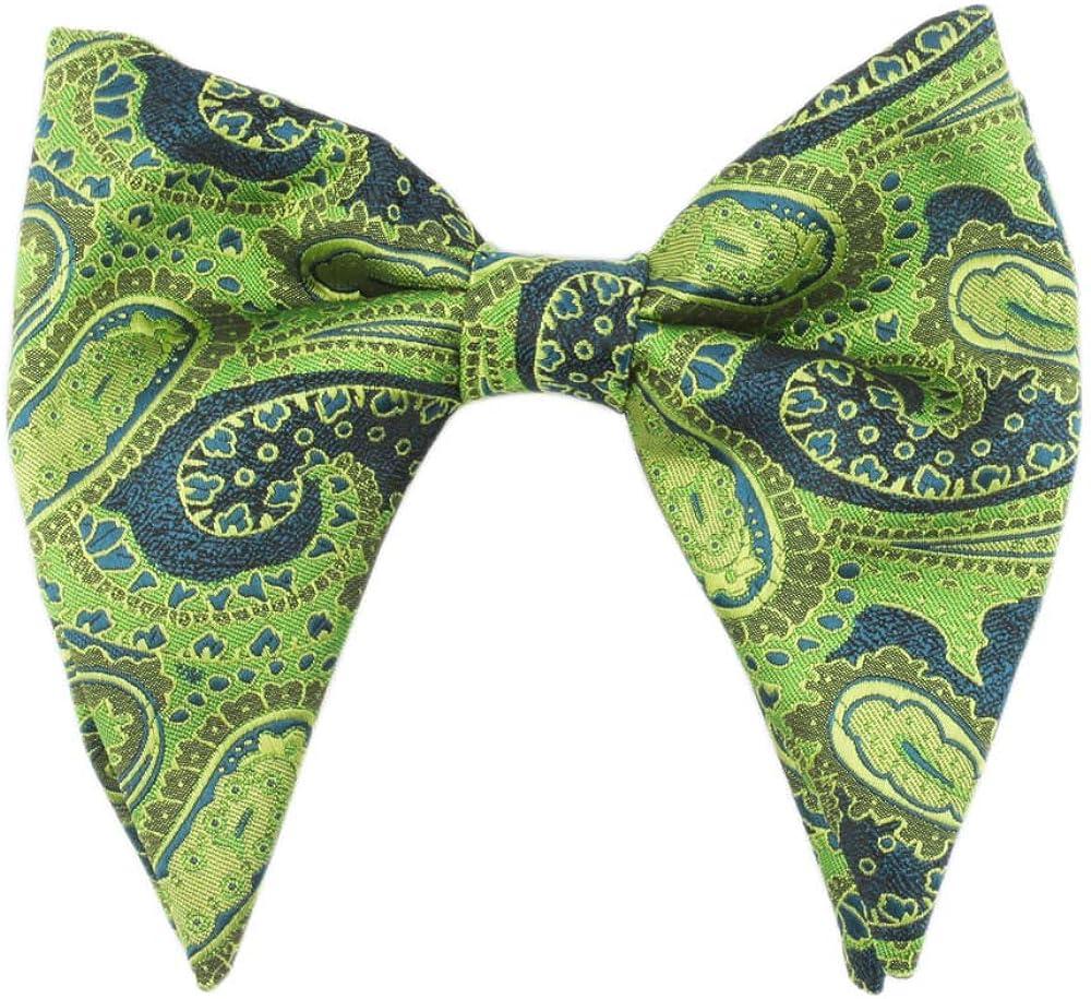 Vintage Bow Tie,Paisley Bowtie,Wedding Bowtie,Big Bowtie,Tuxedo,Wide Bowtie