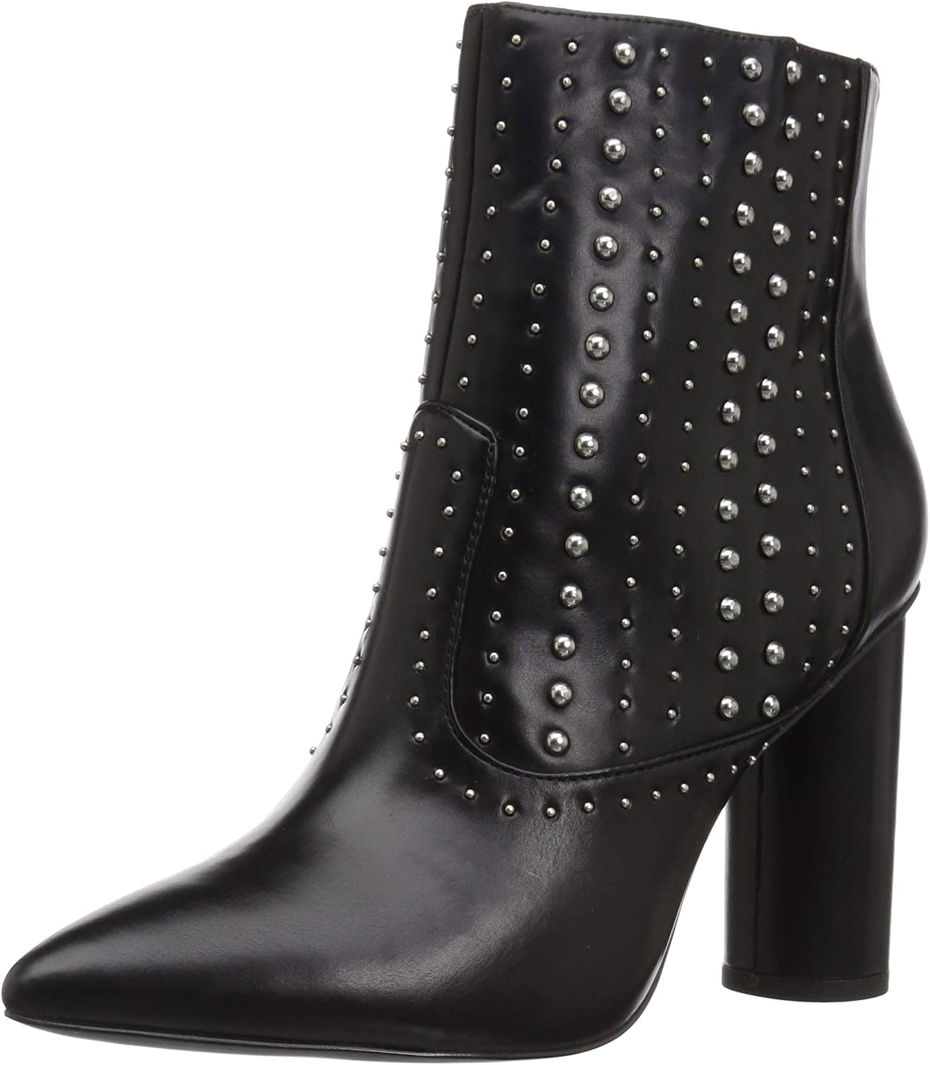 BCBGeneration Womens Hollis Studded Bootie Ankle Boot