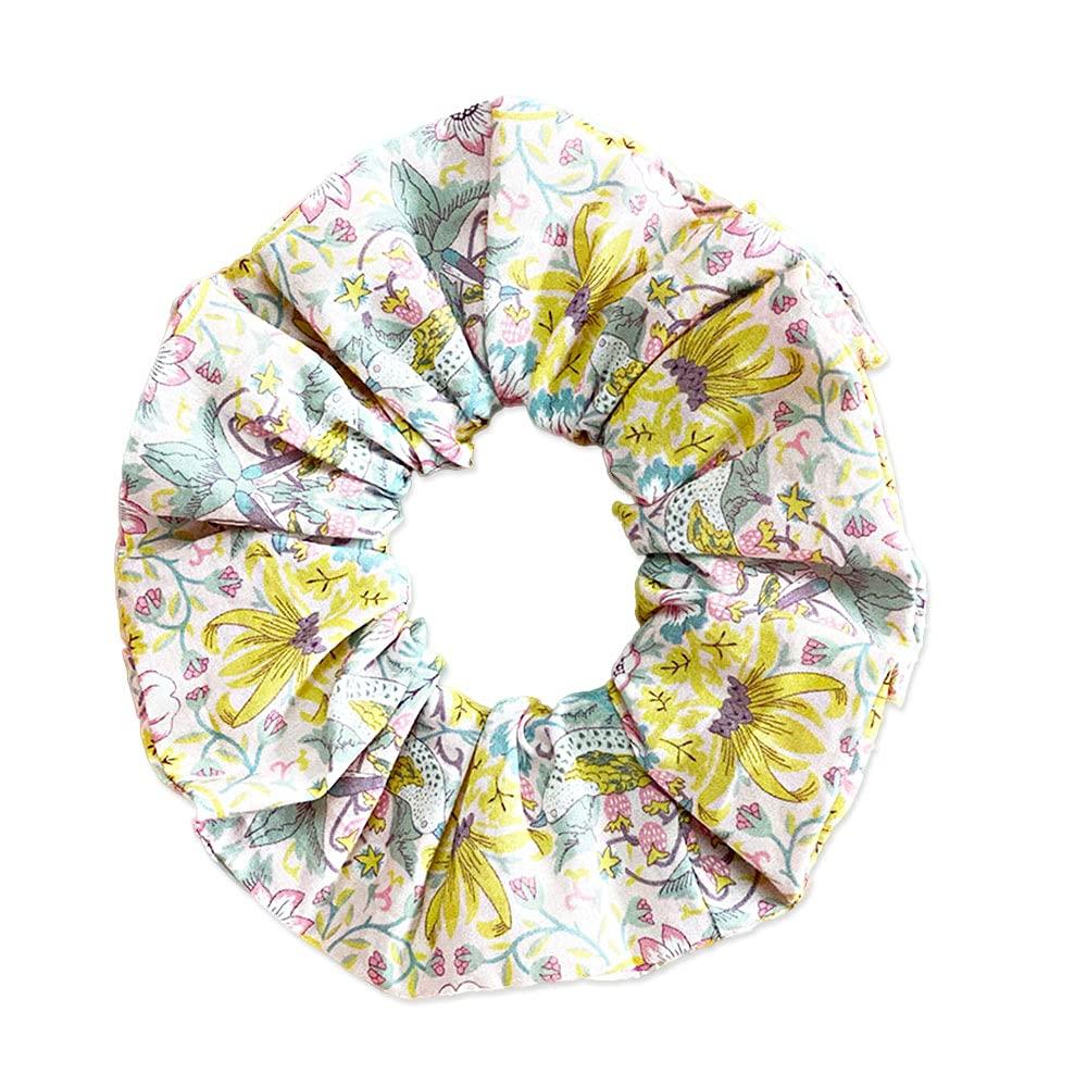 PureFly Liberty handmade Girl's floral Hairband Hair Scrunchies Cotton Elastic Hair Bands