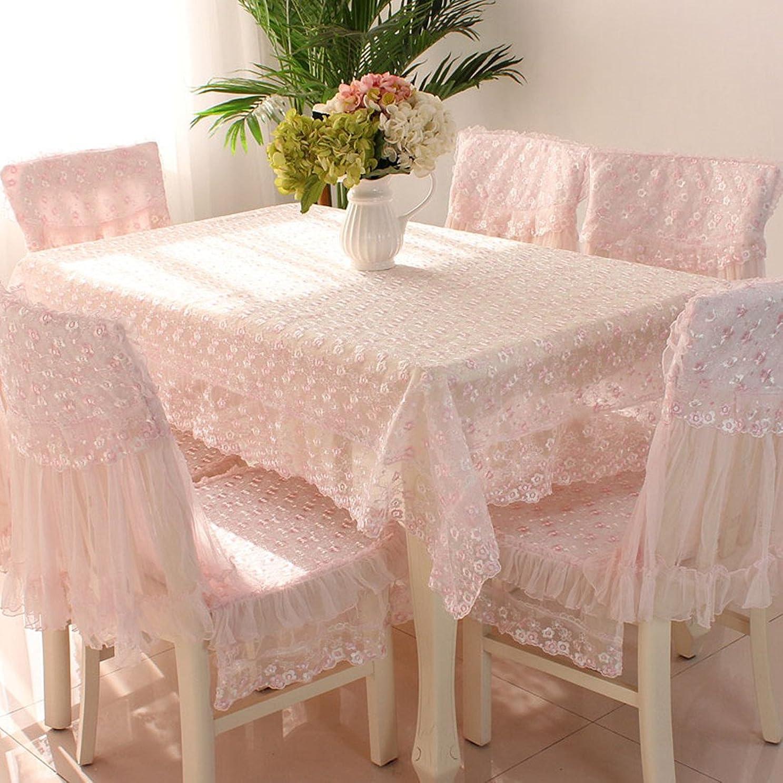 コンバーチブル有効出演者ロマンチック レース パストラル 紗 椅子カバーと椅子の背面カバー