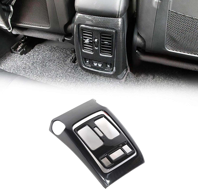 Sales Artudatech Carbon Fiber Look Rear Air Trim Cover for Outlet Vent Max 81% OFF