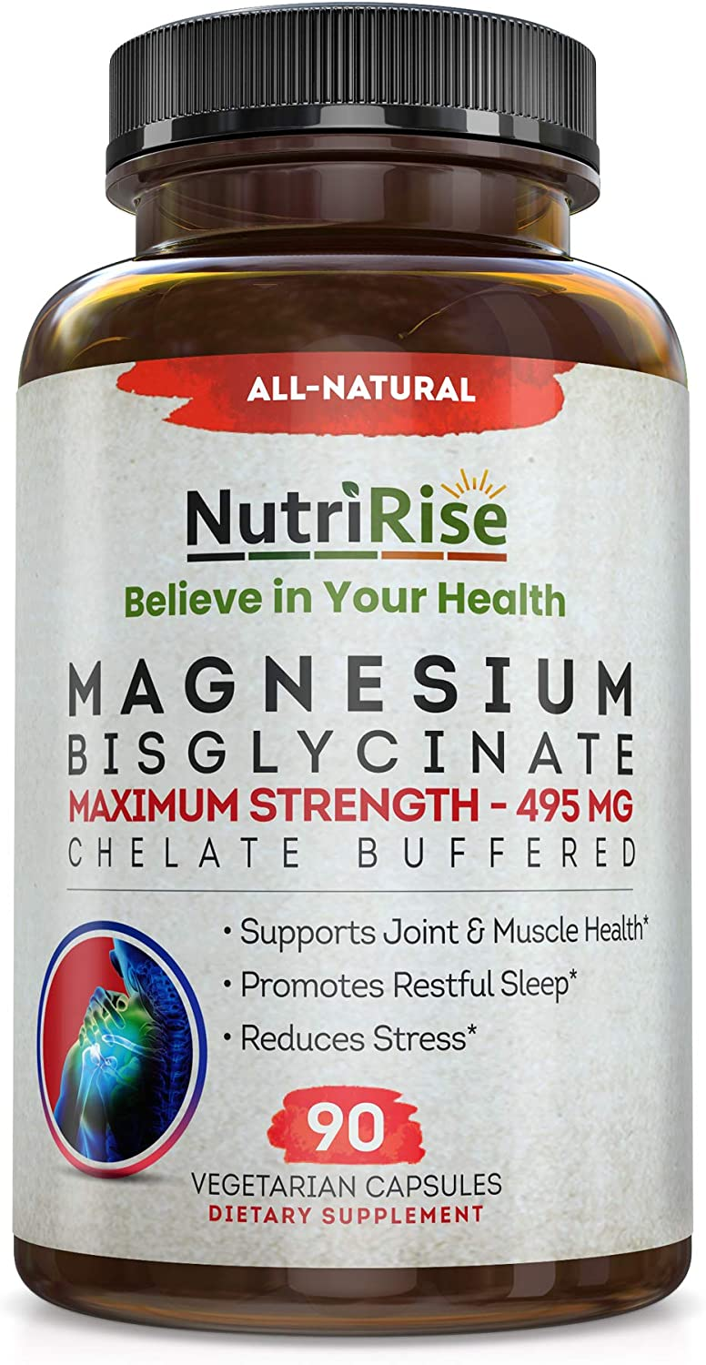 Magnesium Bisglycinate 495mg Baltimore Mall Attention brand - Buffered TRAACS No-Lax Chelate