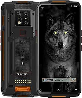OUKITEL WP7 IP68防水スマートフォン 8000mAh Helio P90 6.53 FHD+インチアウトドアスマホ本体 8GBRAM+128GBROM SIMフリースマートフォン本体 SONY 48MP AIカメラ+8MP赤外線暗...