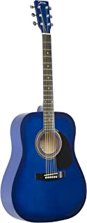 Johnson JG-610-BL 610 Player Series Acoustic Guitar, Blue