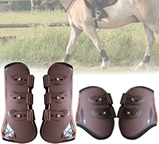 STORMER Professionals Choice Horse Hoof Protective Boots Front Hind Boots Legs for Horse Jumping Boots 2 Pairs