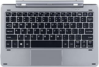 Original CHIWI Keyboard for Chuwi HI10 PRO/Hibook/Hibook Pro Tablet Magnetic Docking Separable Design Multi Mode Rotary Shaft(English Version Keyboard)