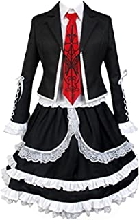 UU-Style Danganronpa V3 Celestia Ludenberg Dress Cosplay Costume Halloween Suit Uniform