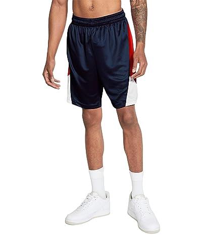 Nike Dry Rival Shorts (Midnight Navy/University Red/White/White) Men