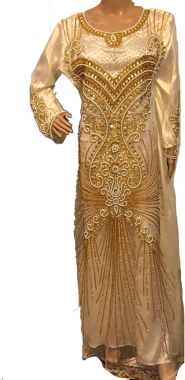 Dubai kaftan mgoldccan caftan jilbab jalabiya women's dress wedding dress