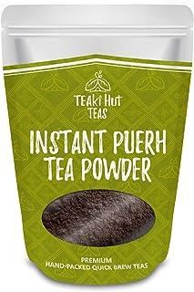 TEAki Hut Instant Pu-erh Tea Powder (4 oz / 80 servings)