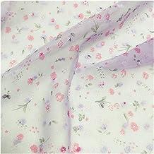 DIY ambacht, Dot Floral Gedrukt Chiffon Stof Tule Mesh materialen voor jurken naaien vrouw blouse en gordijn DIY ambachten...