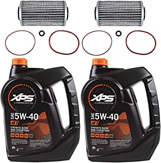 Sea Doo BRP Oil Change Kit W/Filter & O Rings All 4-Tec GTX GTI RXP RXT 2 Pack
