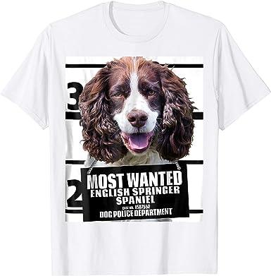 I Love Hearts My Springer Spaniel T-Shirt